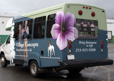 Full Mini Bus Wrap
