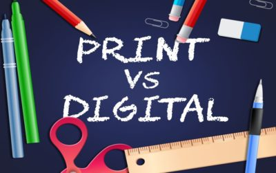 Print Marketing vs. Digital Marketing – Twenty Facts That Will Surprise You