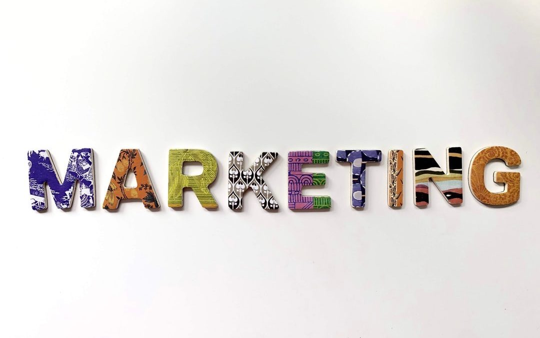 Marketing Spelled Put In Different Letters